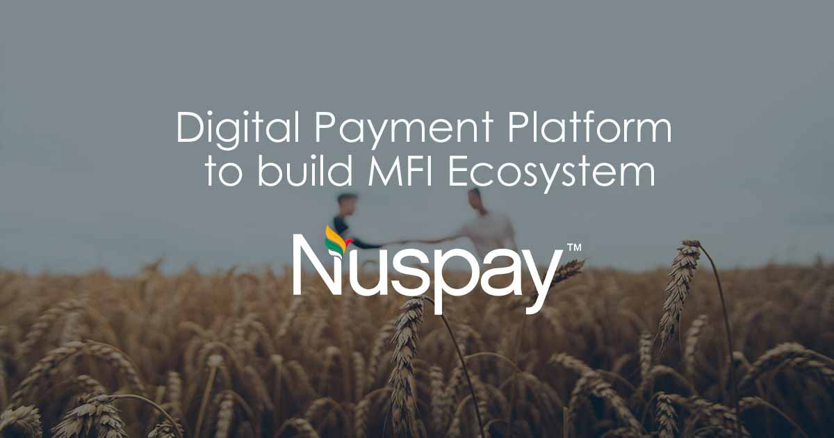 Nuspay Micro Financing Eco System